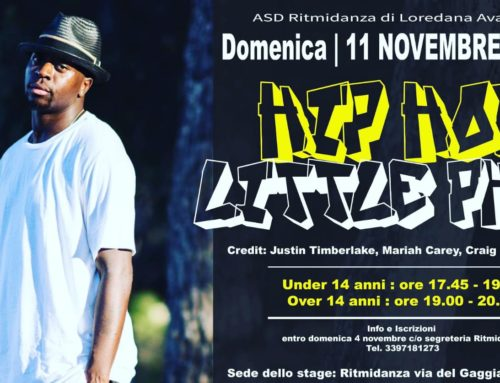 Stage di Hip-Hop con Little Phil