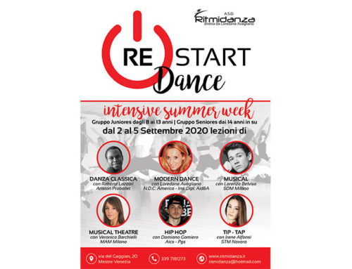 Re-Start Dance! Intensive Summer Week